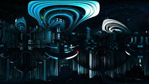 Fractal Space City of Fire and Water: Waterlisk