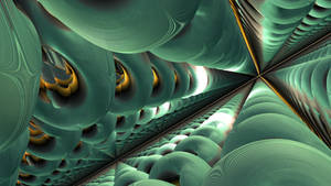 Falling Down through Myn'da'a Corridors by Jakeukalane