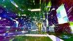 Dyzldi in transdimensional tunnel