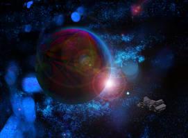 El Planeta Aurciorosphlaunosos by Jakeukalane