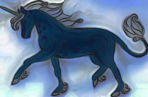 Los Unicornios Azules de Echlye by Jakeukalane