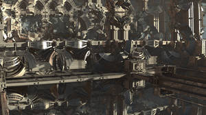 Mechanism of the South Gates of the Fractal City by Jakeukalane