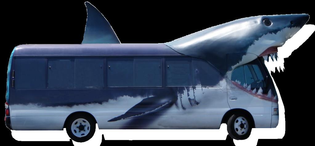 Sharkbus by Jakeukalane