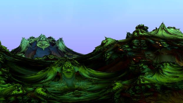 Quintic landscape
