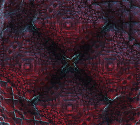 Pulsating fractal mineral