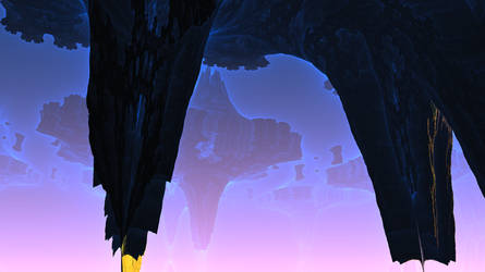 The Floating Subterranean City of Yksvoron