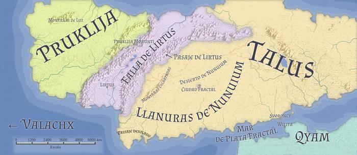 Map of Nyene