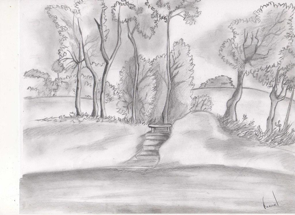 Paisaje Dibujo y Arte 02 by RhemaParzivaL on DeviantArt