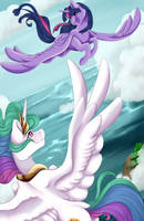 Fly with Twilight by Crecious