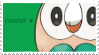 rowlet stamp by uimeon