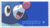 popplio stamp by uimeon
