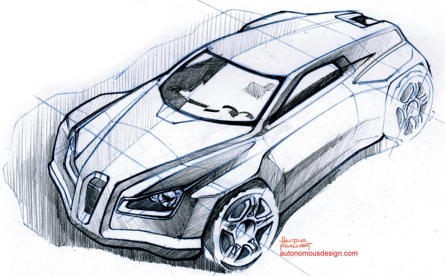 Car Sketch by AutonomousDesign