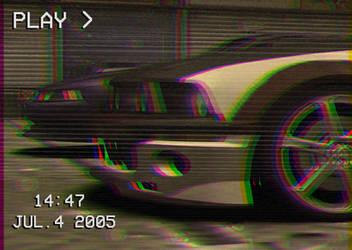 NFSMW Mustang vs Mustang VHS Edit