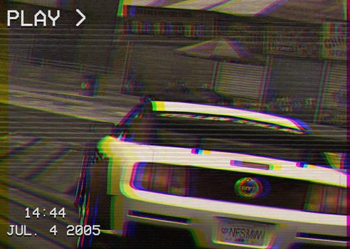 NFSMW Mustang vs Mustang 2 VHS Edit