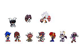 Sonic Exe Characters Part 1 by AmyDreemurr635 on DeviantArt