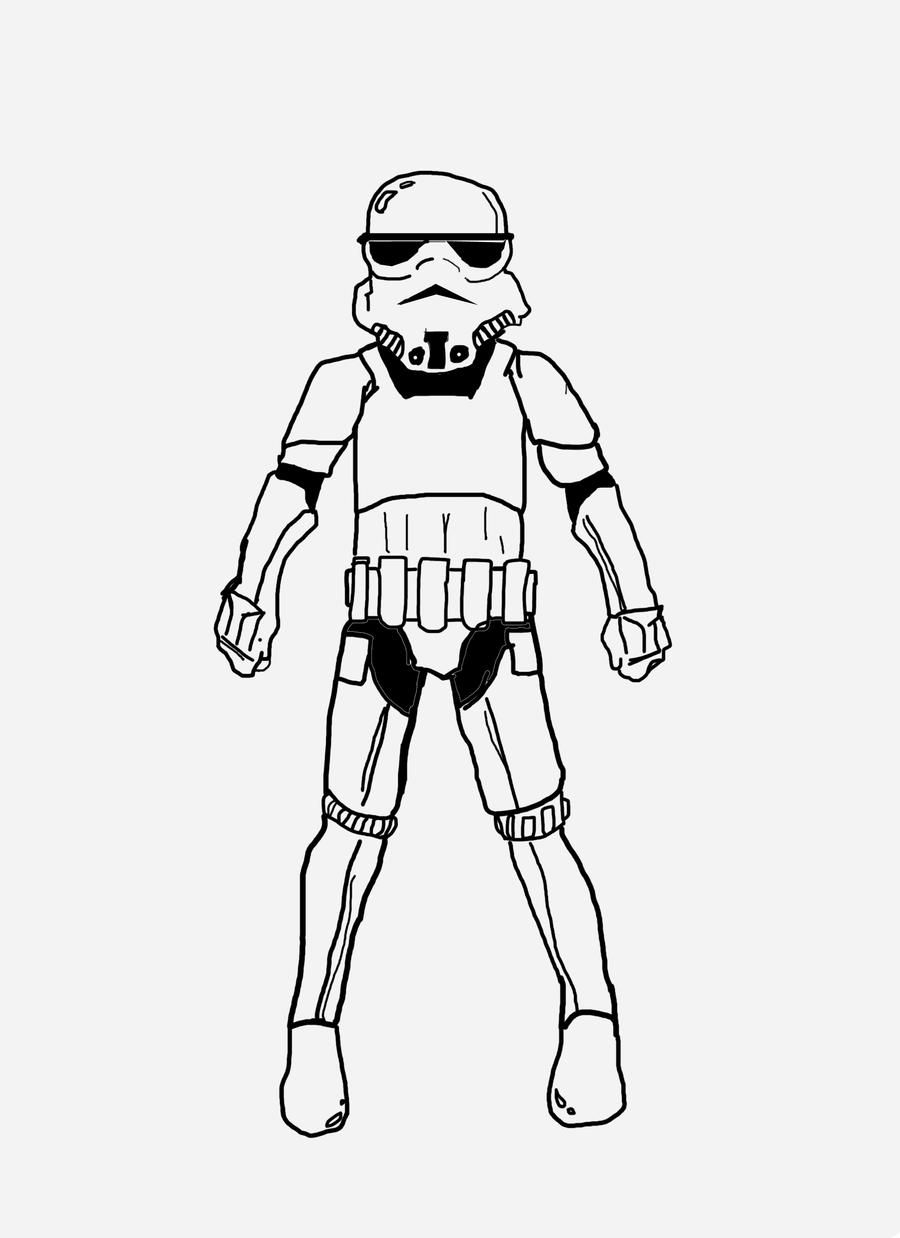 storm trooper coloring pages images