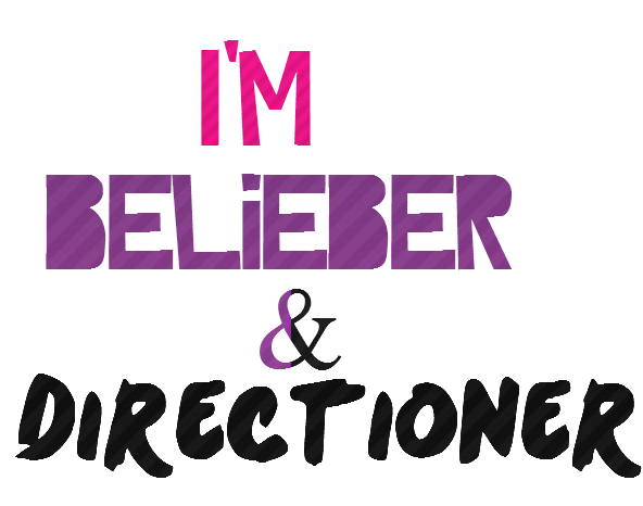 Texto png de I'm Belieber Directioner by MeluEdition on ...