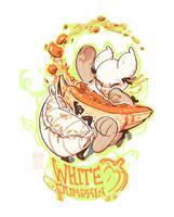 White Pumpkin! - Entry 1 by Kitkaloid