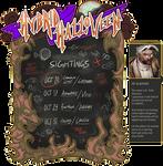 EVENT. HYBRID HALLOWEEN - October Hybrid Sightings by Kitkaloid