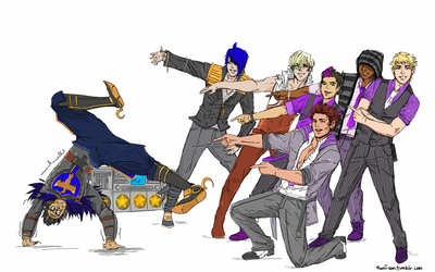 DANCE CENTRAL DEM BOYS