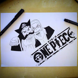 OnePiece - Gol D. Roger and Silvers Rayleigh