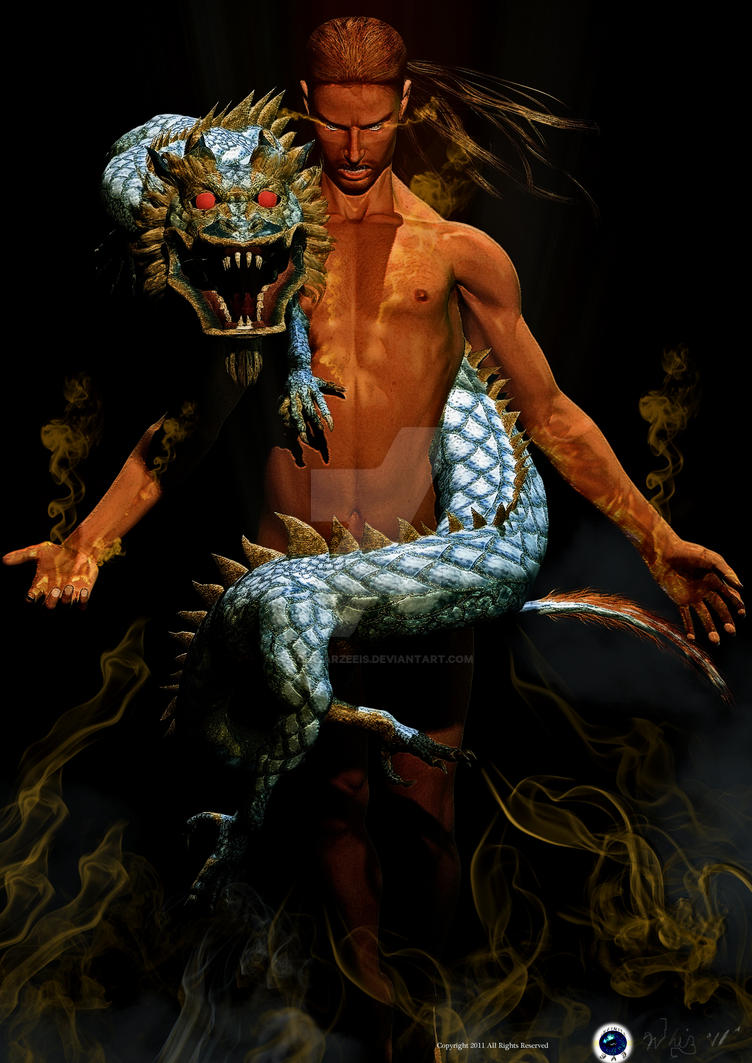 Golden Dragon : Rebirth by schwarzeeis