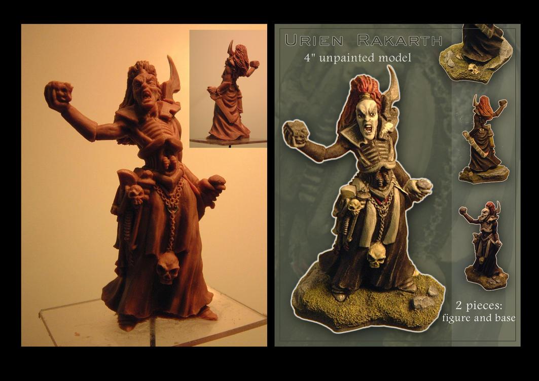 Urien Rakarth sculpture by Carl-Seager