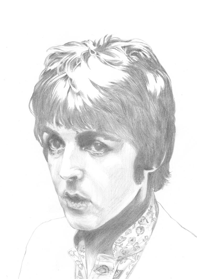 Paul McCartney II A3 by Carl-Seager