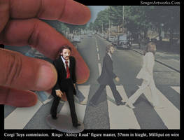 Beatles, Ringo 'Abbey Road' Sculpture 57mm