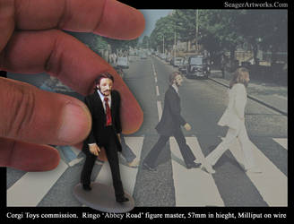 Beatles, Ringo 'Abbey Road' Sculpture 57mm by Carl-Seager