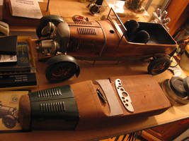 12th Scale Copper Bentley Blower