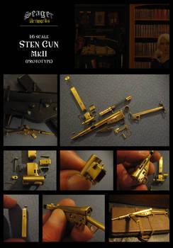 Miniature Sten Gun