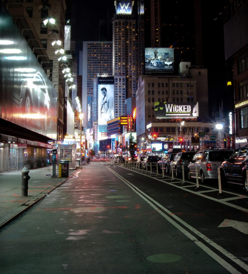 Near times square by hansklausner on deviantart for What to do around times square