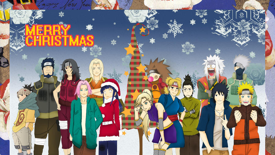 christmas anime naruto - photo #36