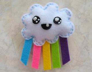 rainbow cloud by ooCottonCandyoo