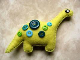 Dinosaurio by ooCottonCandyoo