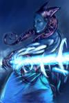 Jedi design blue