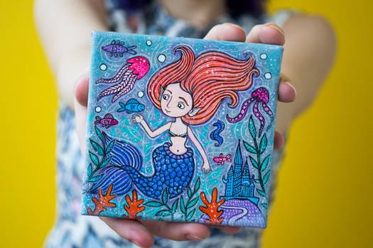 Little Cute Underwater Princess