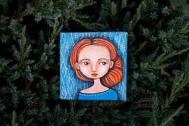 Ginger Girl Portrait