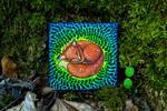 Dreamy Fox - Acrylic Painting