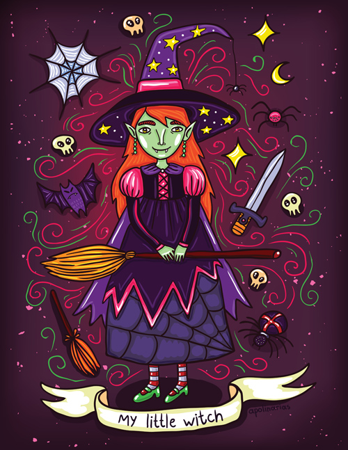My Little Witch by Apolinarias