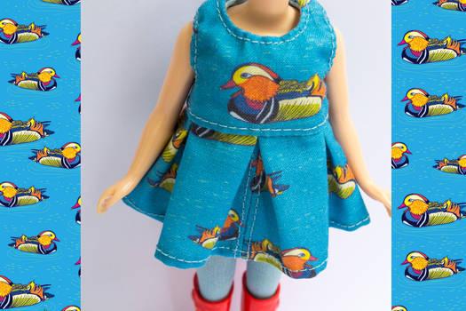 Mandarin Duck Blythe Dress