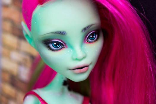 Ivy - OOAK Monster High Doll Venus McFlytrap