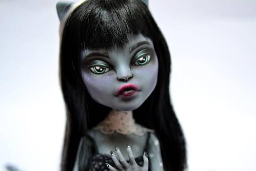 Runa - OOAK Monster High Doll Purrsephone