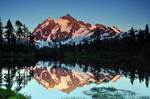 Reflecting on Mount Shuksan