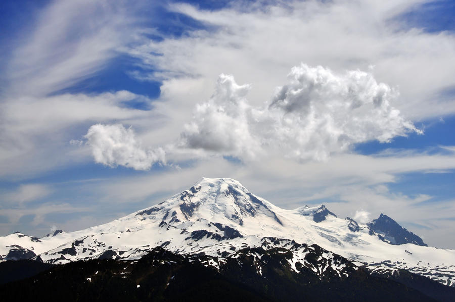 Mount baker from church mtn by greglief on deviantart for Chair 6 mt baker