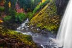 Tamanawas Falls, Autumn Study