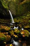 Ponytail Falls Autumn Study 1