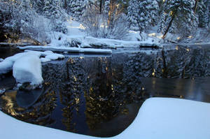 Gold Lake Christmas Card by greglief