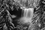 Koosah Falls, Winter Study